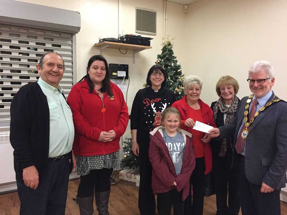Xmas Carol Service in Henllys Village Hall